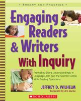 Chapter 3 : Asking the Guiding Question : Reframing the Existing Curriculum into Inquiry Units